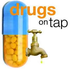 Drugs on tap.
