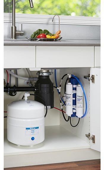 Installed Home Master Reverse Osmosis Sytem