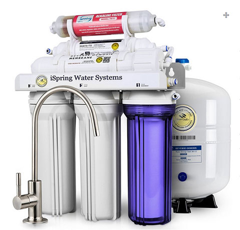 The iSpring RCC7AK, 6-Stage, Reverse Osmosis System