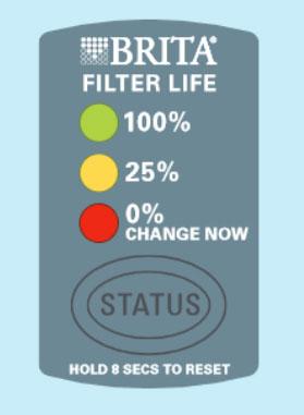 Brita Longlast Filter Cutaway