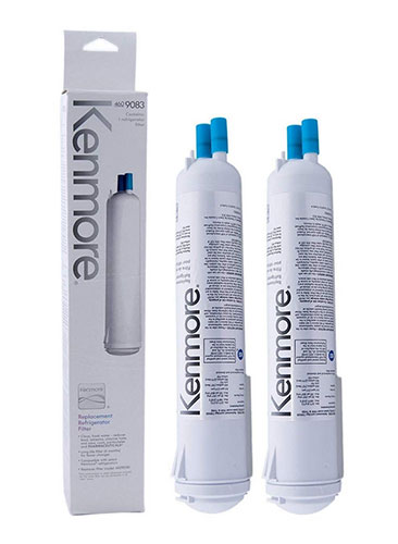 Genuine Kenmore refrigerator Water Filter 09083 2-Pack