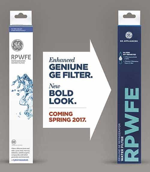 Enhanced GE RPWFE Filter with New Packaging