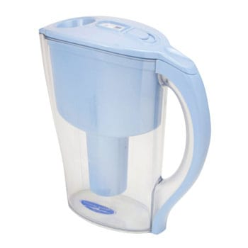 Crystal Quest Blue Pitcher