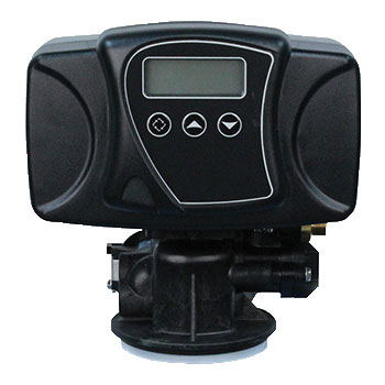Fleck 5600SXT Automatic Backwash Control Valve with LED display.