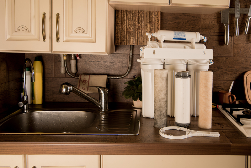 Reverse Osmosis System On Counter