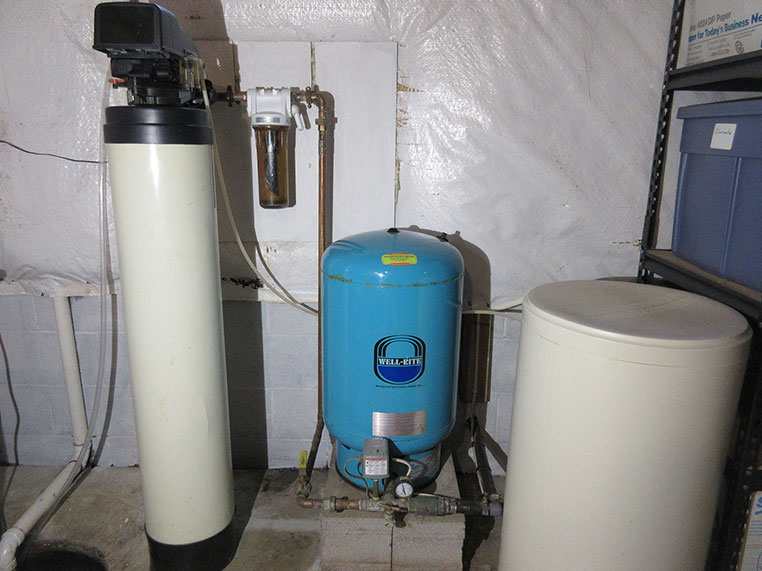Completed Water Softener Installation.
