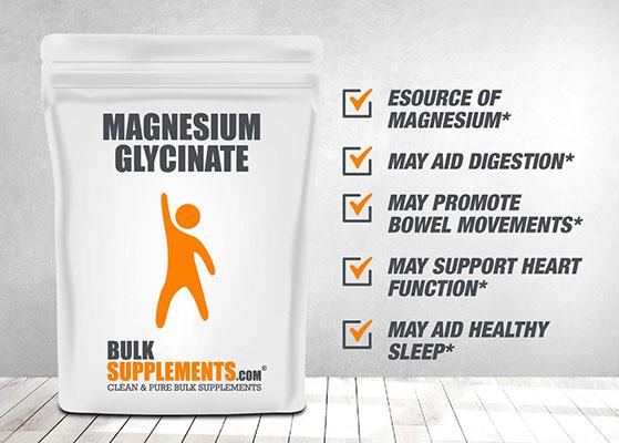 Magnesium Glycinate Bulk Supplement.