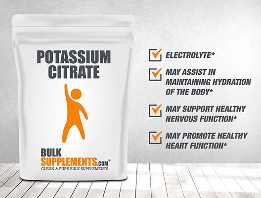 Potassium Citrate Bulk Supplement.