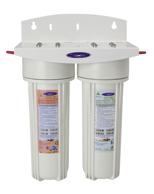Crystal Quest Voyager Dual Inline Water Filter System.